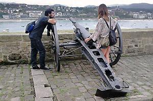 San Sebastian at War - walking tour