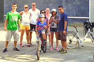 San Sebastian bike tour